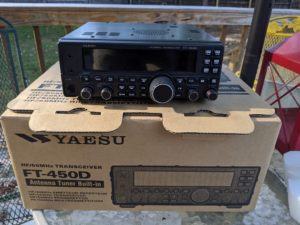 FT-450d with original box