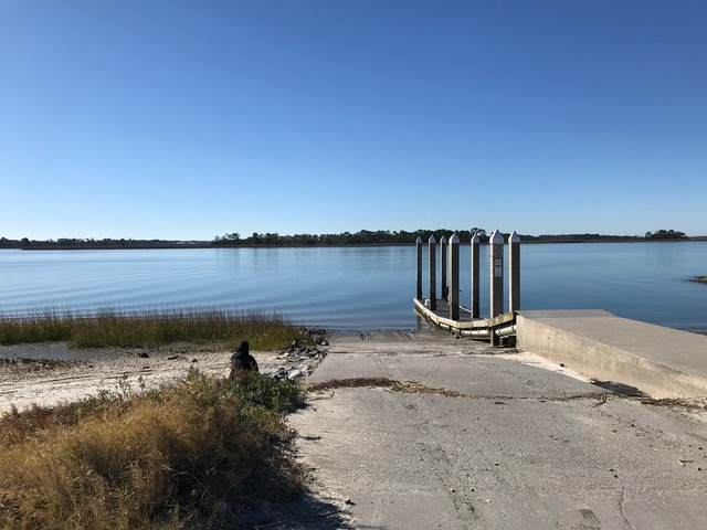 Launch site to Old Island SC